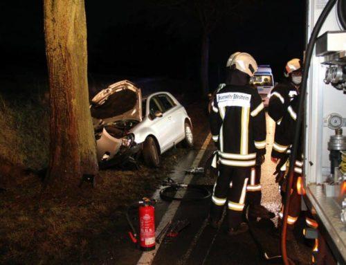 Tödlicher Unfall auf der Bundesstraße 3 bei Hohnstedt